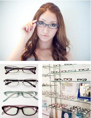 Jコンタクトはメガネを種類豊富に揃えています